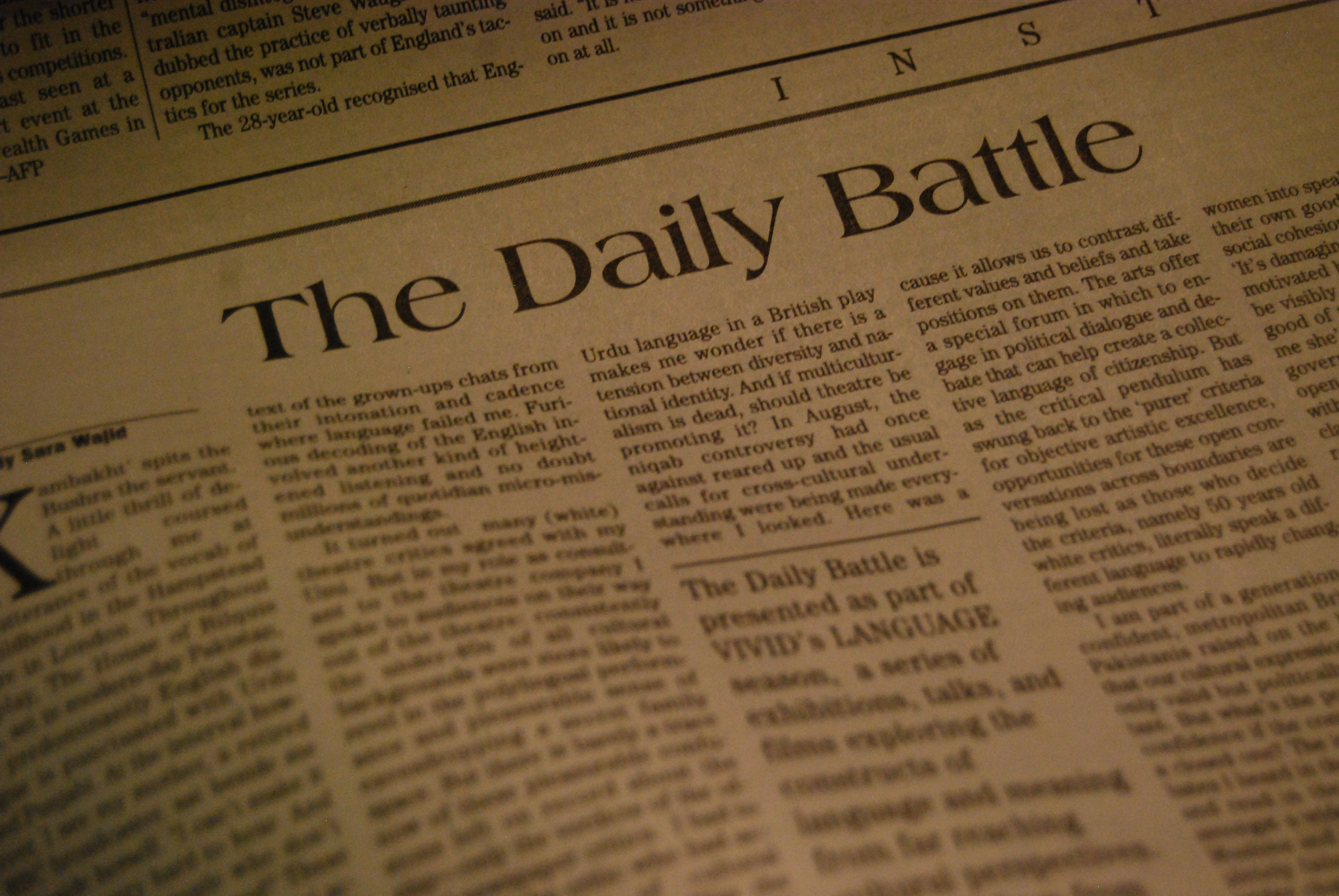 the newspaper The largest online newspaper archive search historical newspapers from across the united states and beyond explore newspaper articles and clippings for help with genealogy, history and other research.