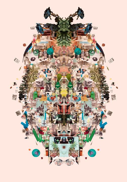 Sara Cwynar, No Hierarchy, 2012, Digital C-Print, 80 x 65 inches
