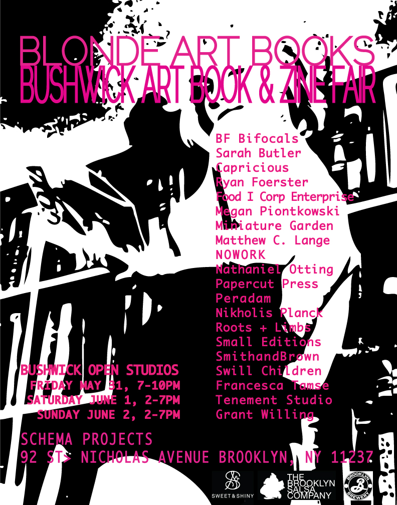 BABZ Fair - Blonde Art Books Bushwick Open Studio 2013
