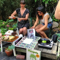 Bushwick Art Book & Zine Fair _ Minature Garden Book launch