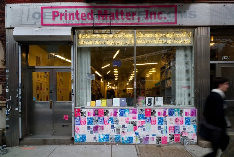 Open Call Printed Matter _storefront