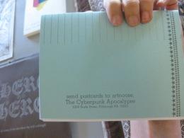 Blonde Art Books - The Mattress Factory - Cyberpunk Apocalypse