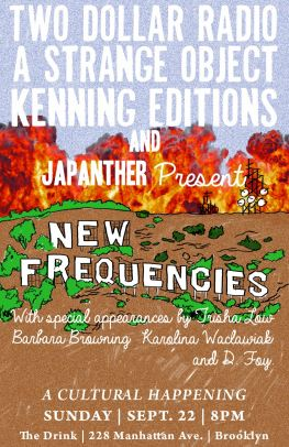New Frequencies _ Blonde Art Books
