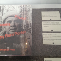 Andrew Beccone - Porter, B., & Something Else Press,. (1972). Found poems. Millerton, N.Y: Something Else Press.