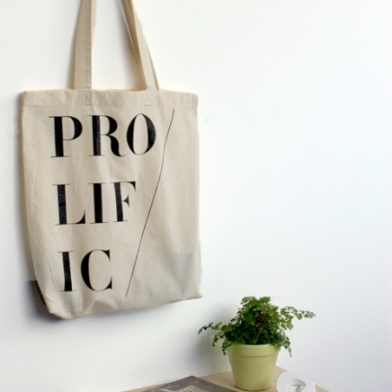 The Little Paper Planes Prolific Tote Bag by Fieldguided