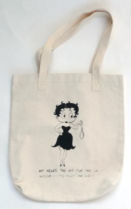 Donald Urquhart Boop-I-Cide Tote Bag for