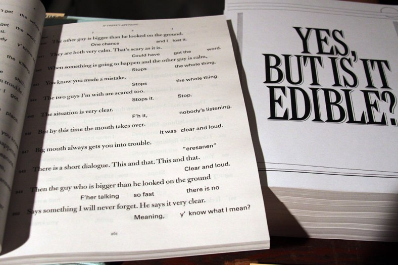 Yes, But Is It Edible? Alex Waterman, Will Holder, Robert Ashley - New Documents O03