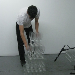 Eve Essex & Juan Antonio Olivares performance, Render Visible, 2012