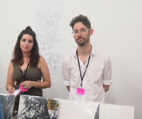 Miriam Katzeff and Matthew Walker of Primary Information