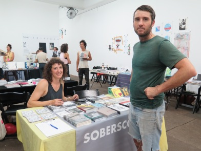 Julia Klein of Soberscove and Patrick Kiley of Publication Studio Hudson