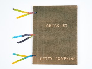 Betty Tompkins, Checklist, 2016